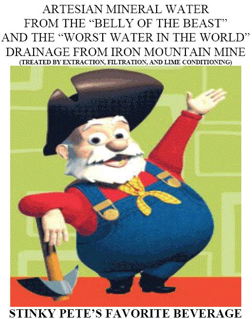 Christ of the Freeminers Iron Mountain Mine